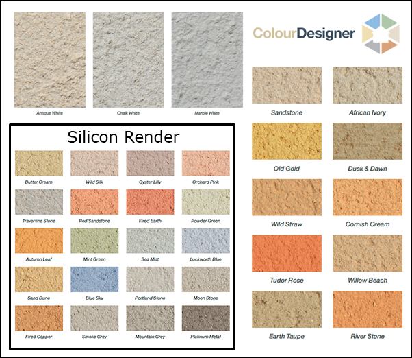 Ecorend Colour Selection